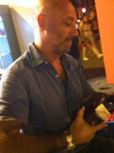 Silvestro as Juror at Salice Salentino at a region-wide wine festival